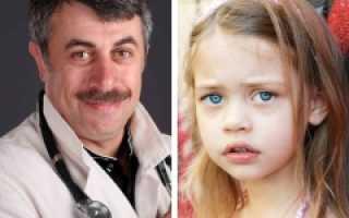 Ребенок бледный и синяки под глазами