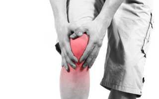 Жгучая боль в колене