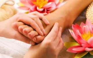 Как правильно делать массаж стоп