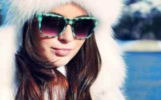 Очки солнцезащитные для зимы