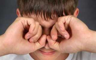 Болит внутри глаз