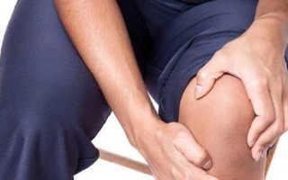 Чем снять отек коленного сустава