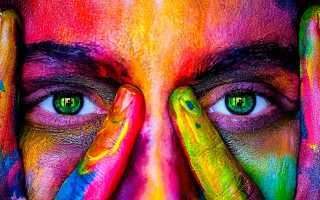 Цветные линзы для глаз с диоптриями