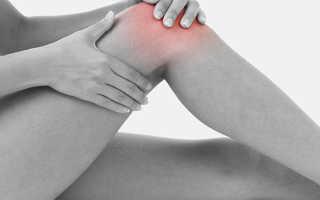 Болит колено ночью