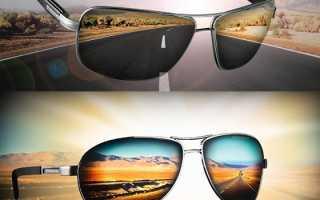 Солнечные очки поляризованные