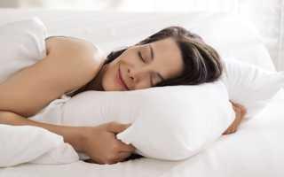 Как спать чтобы не болела шея