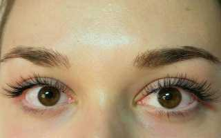 Наращивание уголков глаз